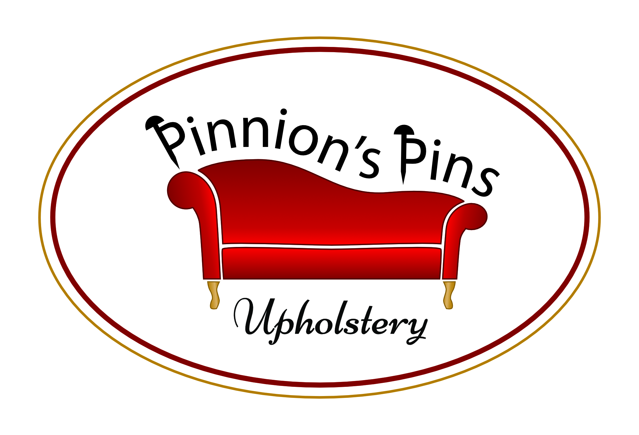 Pinnion's Pins Upholstery logo